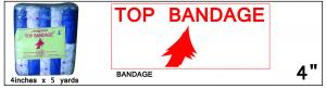 Top Bandage 4in x 5yd ()