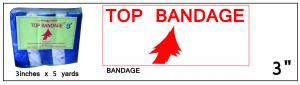 Top Bandage 3in x 5yd ()