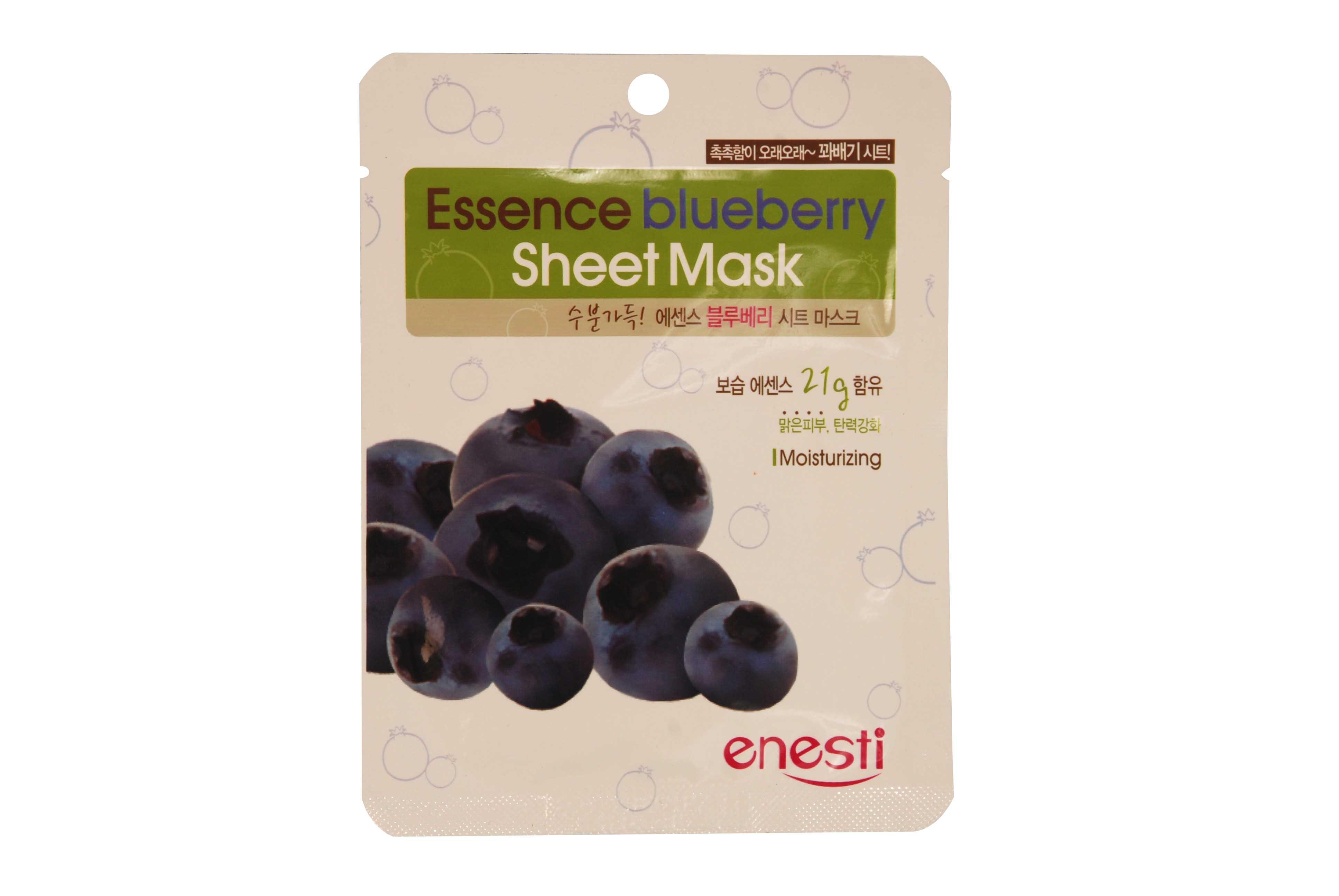 Essence Sheet Mask: Blueberry